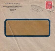 HEIDELBERG, Briefumschlag 1928, Sprengstoff-Verkaufs-GmbH Verkaufsstelle