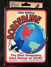 Borderline Geography Card Game Usa Edition Best Geography Card Game