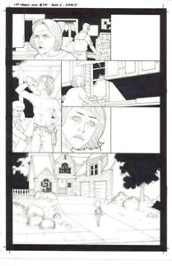 Martin Morazzo Ice Cream Man Issue 14 Page 3 Original Published Art