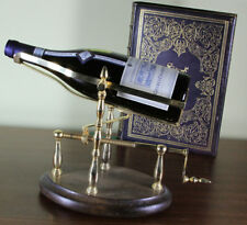 Wine Cradle Mechanical,  Gold Plated