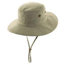 ac0978f17eb Dorfman Pacific Microfiber Boonie Hat Men s Size Large Tan MC241 NEW