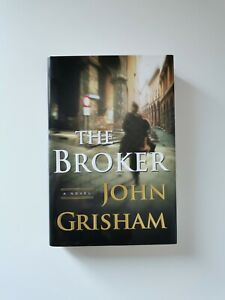 THE BROKER By John Grisham Hardcover First Edition