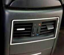D BMW e90 e91 CROMO QUADRO per ventilazione posteriore in acciaio inox lucidato
