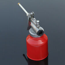 250ml Oil Can Die Cast Body With Rigid Spout Thumb Pump Workshop Tool Oiler