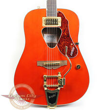Gretsch G5034TFT Rancher Acoustic Electric w/ Bigsby Savannah Sunset Orange Demo
