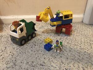 LEGO Disney TOY STORY Duplo 5691 Space Crane Claw COMPLETE Buzz Woody AlienSet