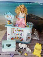 Bambola Barbie BUNDLE Vintage PET SHOP mobili Doll House Usato Toys