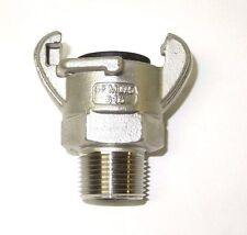 """3/4"""" MALE NPT UNIVERSAL CROWSFOOT COUPLING CHICAGO FITTING 316 S/S SFM075SS"""