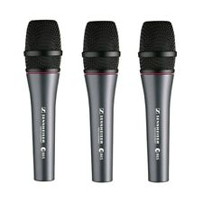 Sennheiser e865 Lead Vocal Condenser Microphone For Live Sound Recording 3 Pack