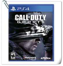 PS4 CALL OF DUTY GHOSTS COD SONY PLAYSTATION Activision Shooting Games