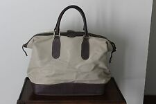 8d536f0907ca0d Authentic Vintage GUCCI Tan Duffel Travel Bag Carry On Luggage Unisex Rare
