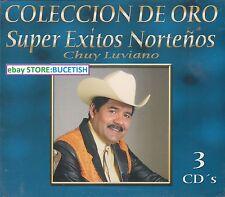 Chuy Luviano Super Exitos Nortenos Coleccion de oro Box set 3CD New Nuevo sealed