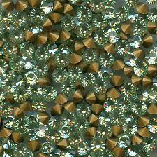1012 PP32 CH *** 30 strass Swarovski fond conique 4mm CHRYSOLITE G