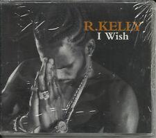 R. KELLY I wish /Bad EDIT /HOMIE MIX CD Single SEALED R