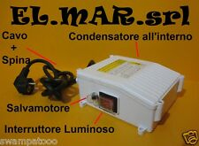 Quadro Elettrico Elettropompa Pompa Sommersa HP 1,5 220 V protezione termica