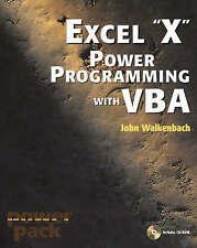Excel 2003 Power Programming with VBA, Walkenbach, John, Very Good Book