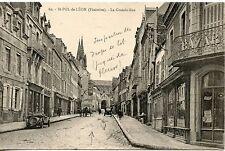 CARTE POSTALE / SAINT POL DE LEON LA GRANDE RUE