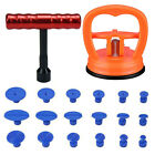 18x Tabs & T-Bar Hammer Puller Lifter Paintless Dent Pit Repair Tool Accessories  for sale