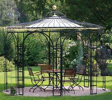 Gartenpavillon Metall Eisenpavillon Pavillon Schmiedeeisen Rankpavillon