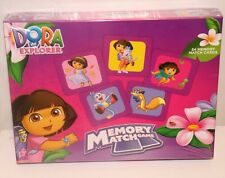(NEW SEALED) DORA THE EXPLORER MEMORY MATCH KIDS CARD GAME PRESCHOOL KG