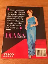 PRINCESS DIANA - 10 YEARS ON - CELEBRATION OF HER LIFE & WORK MAGAZINE - TESCO