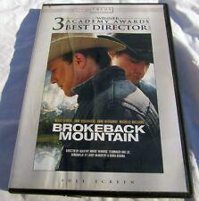 Brokeback Mountain (DVD, 2006, Full Frame) Cowboy Romance Gay Interest