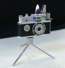 BRIQUET Ancien Design KKW Camera Vintage fuel LIGHTER Feuerzeug Accendino