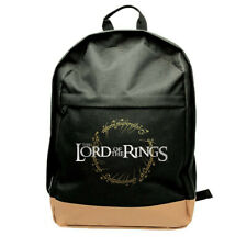OFFICIAL LORD OF THE RINGS RING LOGO BACKPACK RUCKSACK SCHOOL BAG NEW WITH TAGS