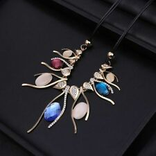 Leather Beauty Chain Fashion Necklaces & Pendants