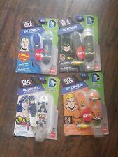 LOT OF 4 TECH DECK DC Comics BATMAN WONDER WOMAN SUPERMAN AQUAMAN Almost