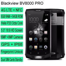 Blackview BV8000 Pro 4G Smartphone 6GB RAM 64GB ROM MTK6757 IP68 Waterproof