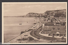 Postcard Sidmouth Devon view from the East dated 1944 by Raphael Tuck