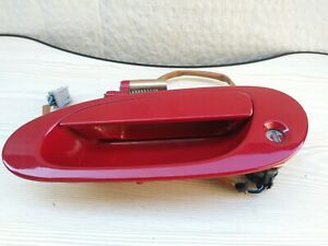 2002-2006 Acura RSX Driver Side (LH)  Exterior Door Handle Red (OEM)
