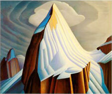 "Lawren Harris, Group of Seven  ""Mount Lefroy"" Large Print"