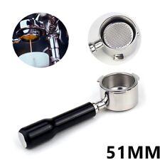 Porte-Filtre Sans Fond de Café 51MM pour Delonghi EC680 / EC685 Filtre Filtre b9