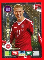 ROAD TO RUSSIA 2018 -Panini Adrenalyn- Card LIMITED EDITION - FISCHER - DENMARK