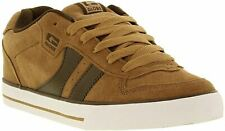 Globe Encore 2 Tan Brown Suede Mens Skate Trainers Shoes Boots