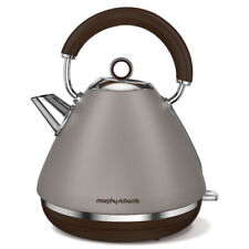 NEW Morphy Richards Pebble Accents Kettle Cordless Traditional 1.5L Matte 102102