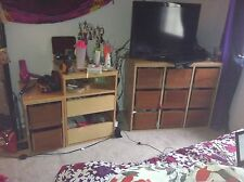 Twin/Full Solid Wood Bedroom Set-4 pieces