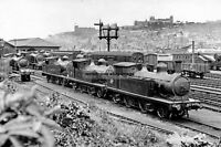 pt0042 - Whitby Railway Station , Yorkshire - photograph 6x4