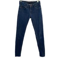 BDG Womens Sz 27 Dark Wash Skinny Twig Ankle Low Rise Stretch Denim Jeans