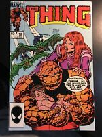 The Thing Volume 1 #18 December 1984  Marvel Comics Stan Lee