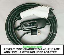 LEVEL 2 PLUS LEVEL 1 EVSE CAR CHARGER DUOSIDA  6-20Plug 240V16A  BEST BEST!