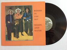 RIDERS IN THE SKY: Weeds and Water vinyl LP Rounder 1038 archive MINT
