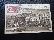 FRANCE  - carte 27/6/1948 (tricentenaire ratt sedan)) (cy65) (vignette au dos)