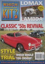 Which Kit? magazine 01/1994 featuring Lomax Lambda, Rudolph Ghia, Apal Speedster