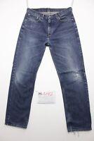 Levi's 751 stretch (Cod.H1192) Tg.48 W34 L34 boyfriend jeans usato