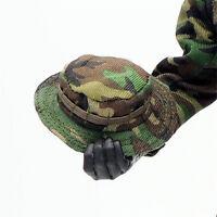 1/6 Scale Uniforms Outfits Suit Woodland camo Bonnie Cap hat for Action Figures