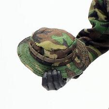 1/6 Scale Uniforms Coveralls Suit Woodland camo Bonnie Cap hat Action Figure