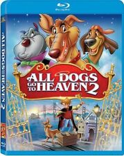 Blu Ray ALL DOGS GO TO HEAVEN 2. UK compatible. New sealed.